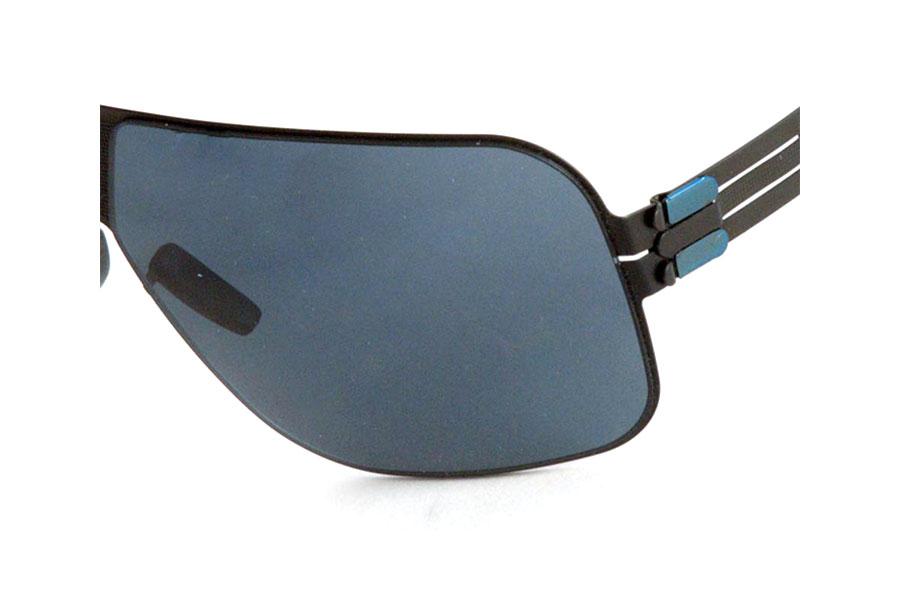 Occhiale-da-sole-IC-BERLIN-modello-MEMBRANE-VIBRATION-BLACK-dettaglio